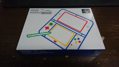 【画像】スーパーファミコン仕様New3DSLL届いたwww